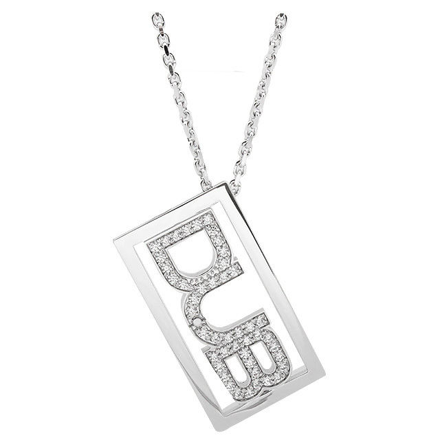 即日発送アイテム【DUB collection|ダブコレクション】DUB logo shine Necklace ダブ ロゴ シャイン ネックレス DUBj-142-1【ユニセックス】