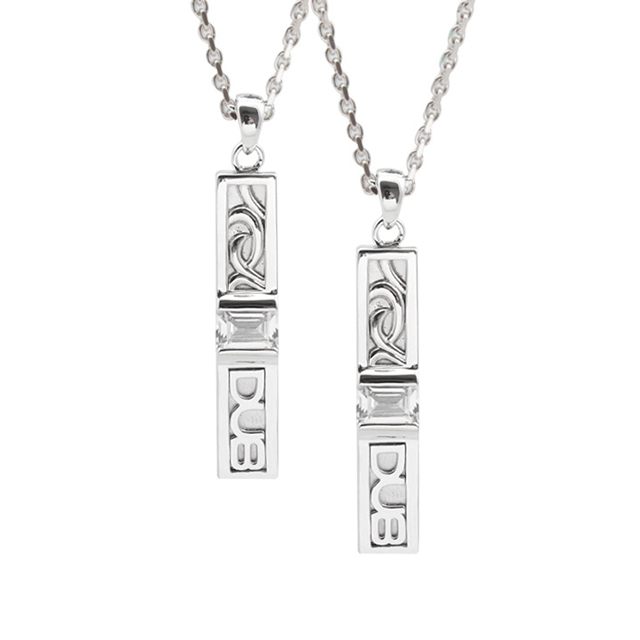 【DUB collection|ダブコレクション】Ivy Pair Necklace アイビーペアネックレス DUBj-188-2-2【ペア】