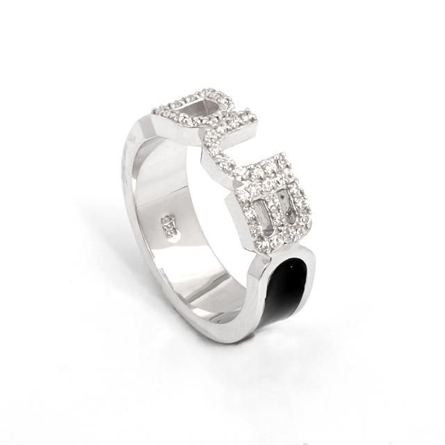 アウトレット【DUB Collection|ダブ コレクション】Honest Ring オネスト リング DUBj-223-1(BK)【メンズ】