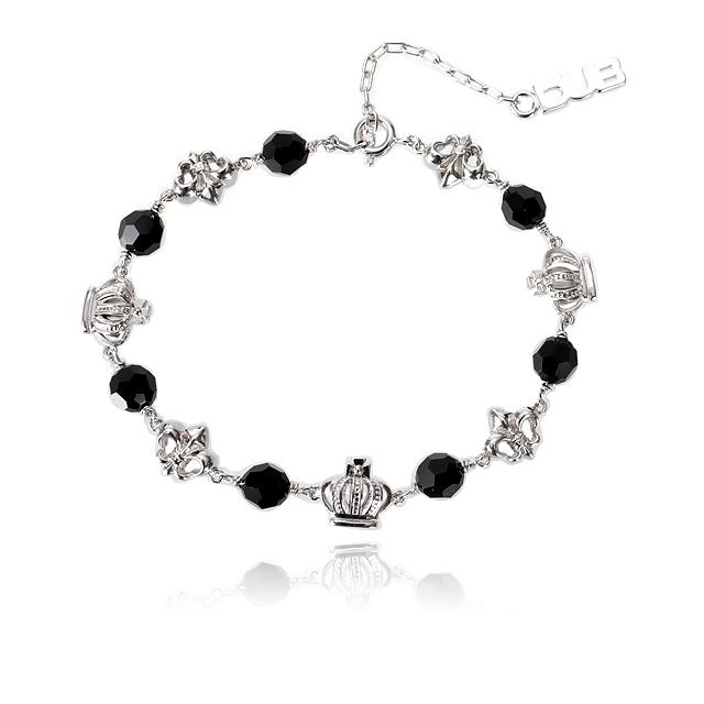 【DUB collection】Attractive Bracelet アトラクティブ ブレス DUBj-257-1(BK)【ユニセックス】