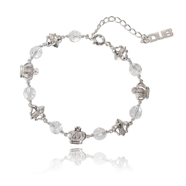 【DUB collection】Attractive Bracelet アトラクティブ ブレスレット DUBj-257-2(WH)【ユニセックス】
