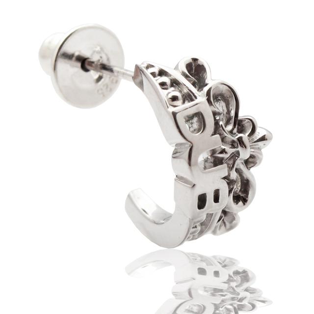 【DUB collection】Crown Pierced クラウンピアス DUBj-261-1【ユニセックス】