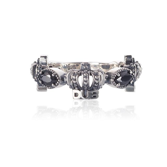 【DUB collection|ダブコレクション】Classical Crown Ring クラシカルクラウンリング DUBj-267-1【ユニセックス】