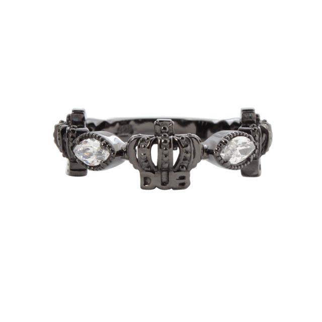 【DUB Collection│ダブコレクション】Classical Crown Ring クラシカルクラウンリング DUBj-267-3【メンズ】