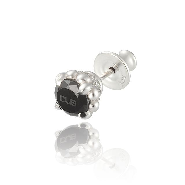 【DUB Collection】Lily range Pierced【DUBj-279-1(BK)】【ユニセックス】