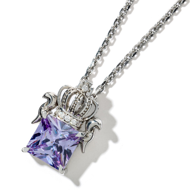 【DUB Collection】Regal crown Necklace リーガルクラウンネックレス DUBj-285-2【ユニセックス】