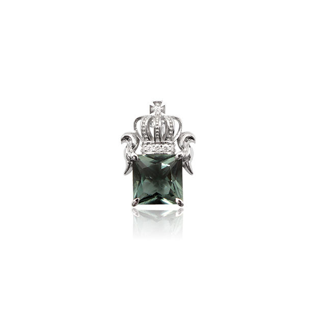 【DUB collection|ダブコレクション】Regal crown Necklace Top リーガルクラウンネックレストップ DUBj-285-TOP【ユニセックス】