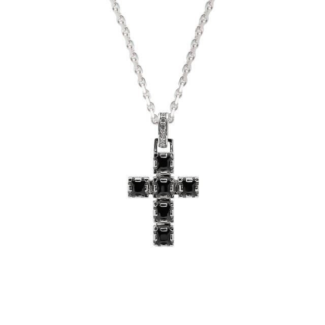 【DUB collection|ダブコレクション】Crown Cross Necklace クラウン クロス ネックレス DUBj-289-1【ユニセックス】