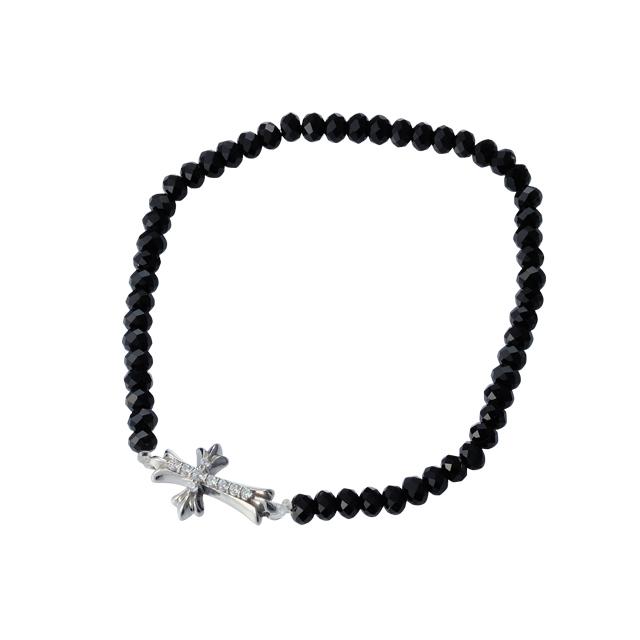 【DUB Collection│ダブコレクション】Stone Cross Bracelet|DUBj-293-1【ユニセックス】