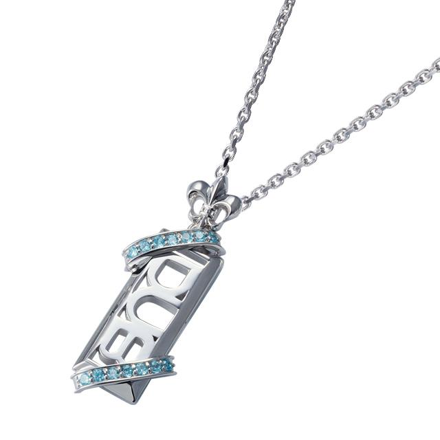 受注生産【DUB Collection│ダブコレクション】Stone twined Necklace ストーンツインドネックレス DUBj-295-3【ユニセックス】