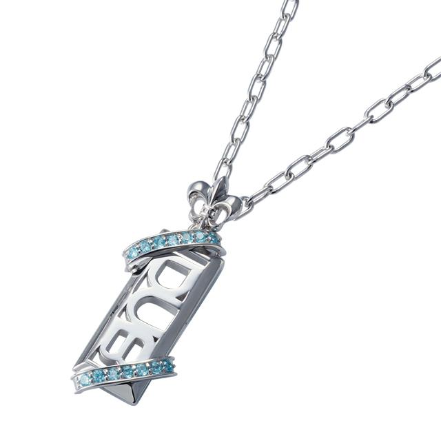 即日発送アイテム【DUB Collection│ダブコレクション】Stone twined Necklace ストーンツインドネックレス DUBj-295-3【ユニセックス】