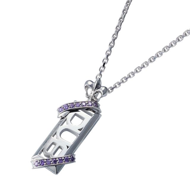 受注生産(オーダー)【DUB Collection│ダブコレクション】Stone twined Necklace ストーンツインドネックレス DUBj-295-4【ユニセックス】