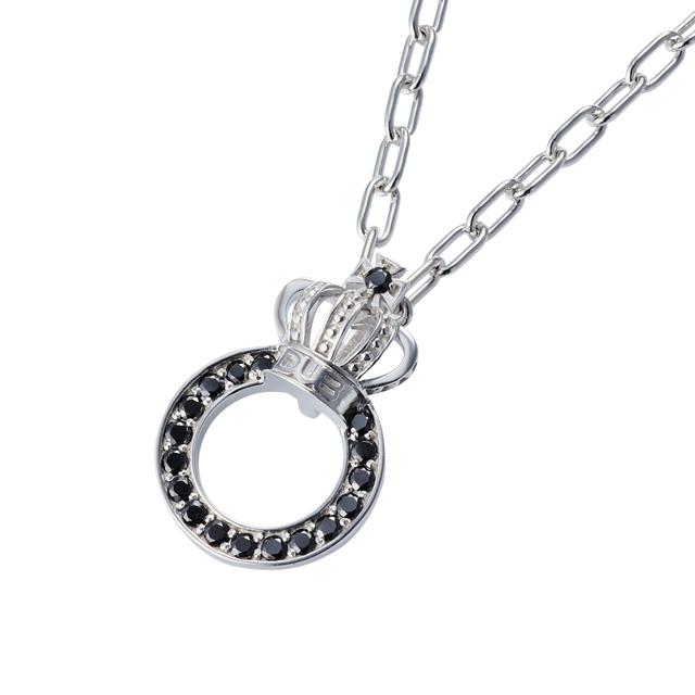 【DUB Collection│ダブコレクション】Crown ring Necklace クラウンリングネックレス DUBj-296-1【ユニセックス】