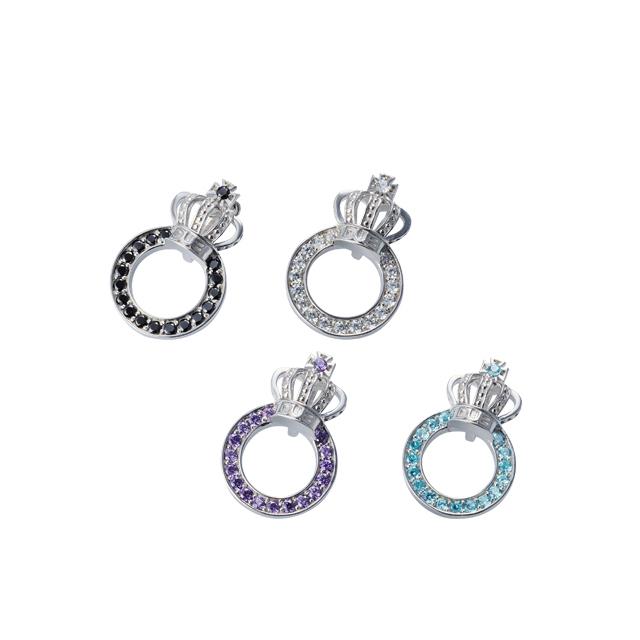 【DUB Collection│ダブコレクション】Crown ring Necklace Top クラウンリングネックレストップ DUBj-296-TOP【ユニセックス】