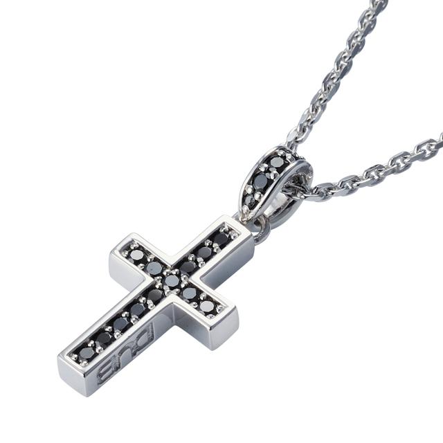 受注生産(オーダー)【DUB Collection│ダブコレクション】Rectilinear Cross Necklace レクタリニアクロスネックレス DUBj-297-1【ユニセックス】