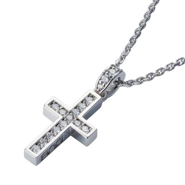 受注生産(オーダー)【DUB Collection│ダブコレクション】Rectilinear Cross Necklace レクタリニアクロスネックレス DUBj-297-2【ユニセックス】