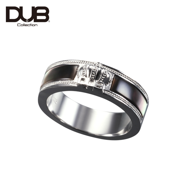 【DUB Collection│ダブコレクション】Crown Shell Ring クラウンシェルリング DUBj-309-1【メンズ】
