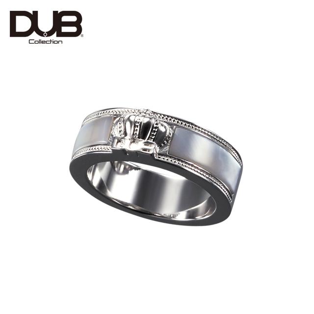 【DUB Collection│ダブコレクション】Crown Shell Ring クラウンシェルリング DUBj-309-2【レディース】