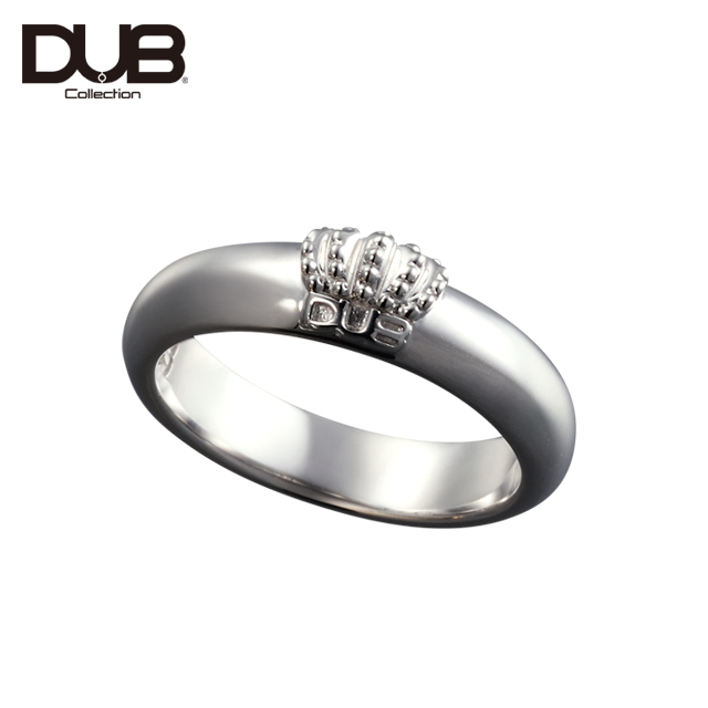 即日発送アイテム【DUB Collection│ダブコレクション】Crown Domed Ring クラウンドームリング DUBj-310-1【ユニセックス】