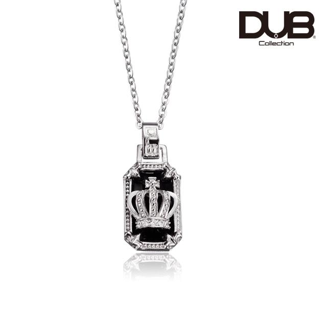 即日発送アイテム【DUB Collection│ダブコレクション】Crown frame Necklace  クラウンフレームネックレス  DUBj-317-1【ユニセックス】