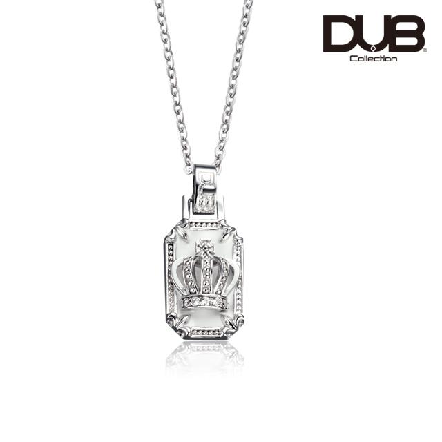受注生産(オーダー)【DUB Collection│ダブコレクション】Crown frame Necklace  クラウンフレームネックレス  DUBj-317-2【ユニセックス】