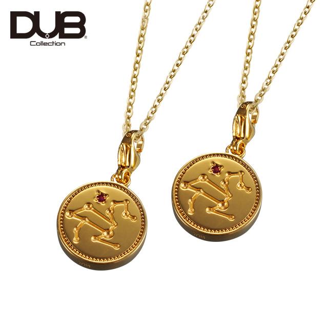 【DUB Collection│ダブコレクション】Constellation Pair Necklace コンステレーションペアネックレス DUBj-318-2Pair【ペア】【12星座/星座石】