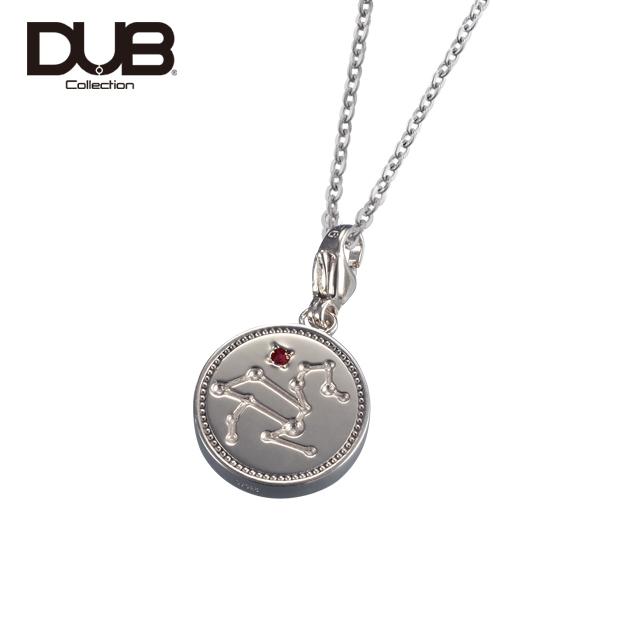 【DUB Collection│ダブコレクション】Constellation Necklace コンステレーションネックレス DUBj-318-1(SV)【ユニセックス】【12星座/星座石】