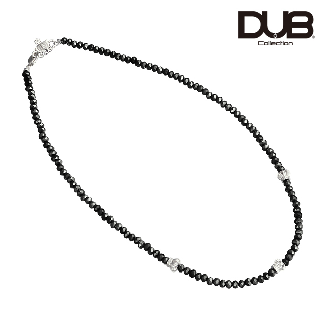 アウトレット【DUB Collection│ダブコレクション】Crown Beads Necklace クラウンビーズネックレス DUBj-330-1【ユニセックス】