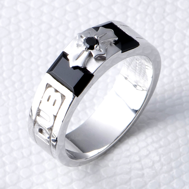 【DUB Black|ダブブラック】Noble Ring  ノーブルリング DUBjb-4【メンズ】