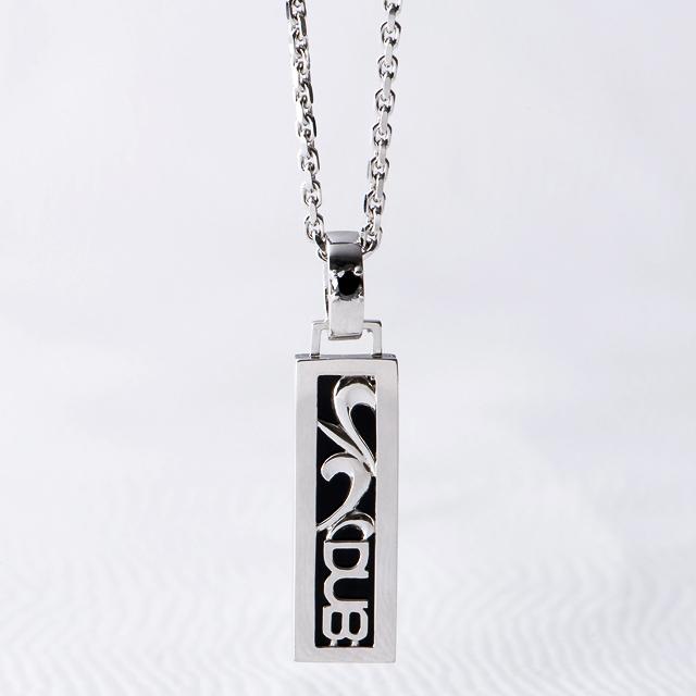 【DUB Black|ダブブラック】Thrive スライブネックレス DUBjb-5 BKDIA(ブラックダイヤ)【メンズ】