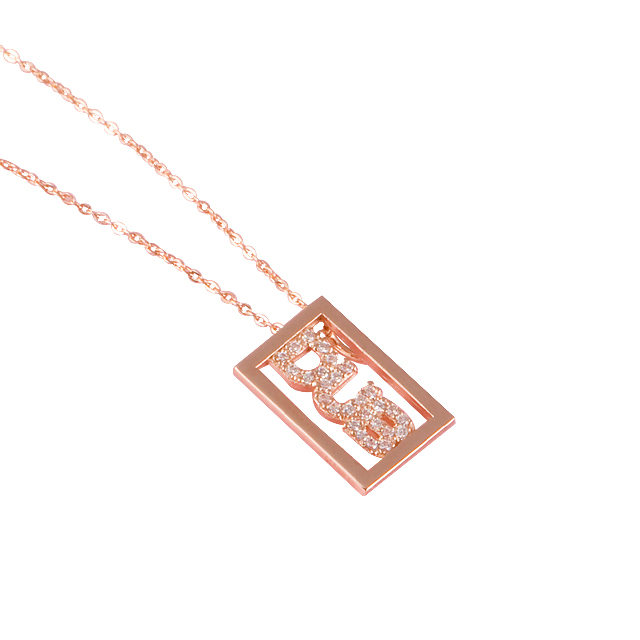 【DUB Sweet ダブスウィート】DUB logo shine Necklace K10 ダブロゴシャインネックレス DUBjp-1【レディース】