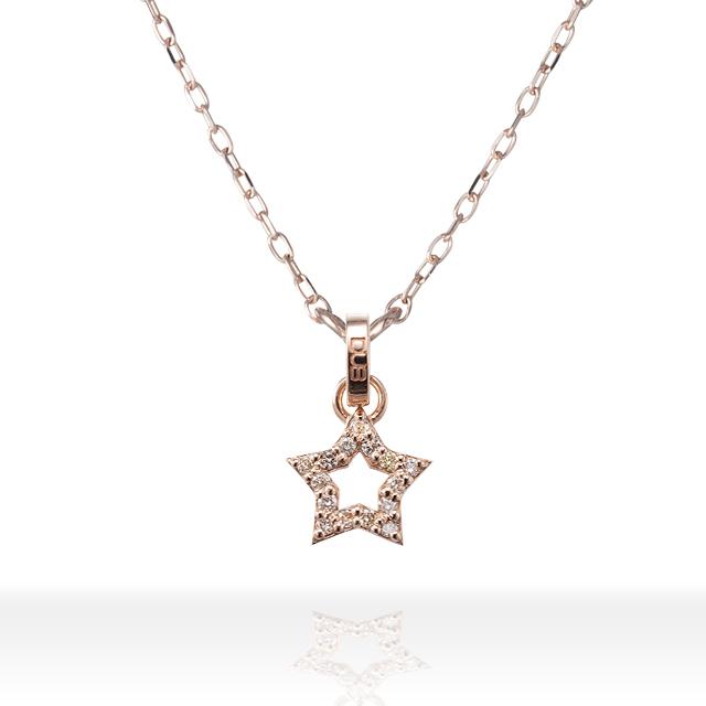 【 DUB Sweet|ダブスウィート】Twinkle Star Necklace トゥインクルスターネックレス DUBjp-28【レディース】