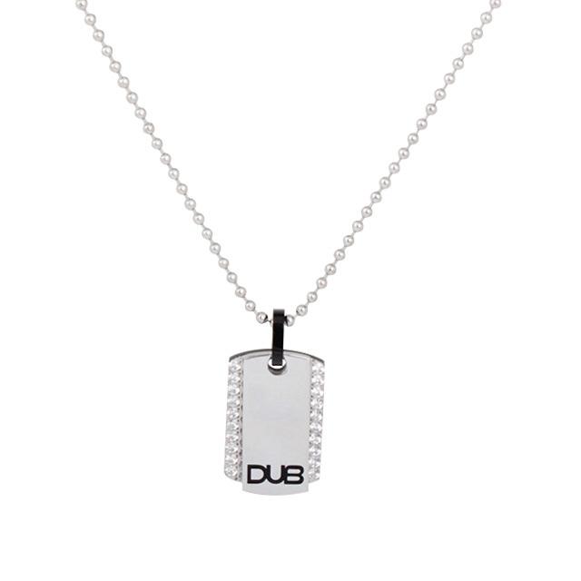 【DUB Collection】 DUBjss-14-bk ステンレスネックレス 【ユニセックス】