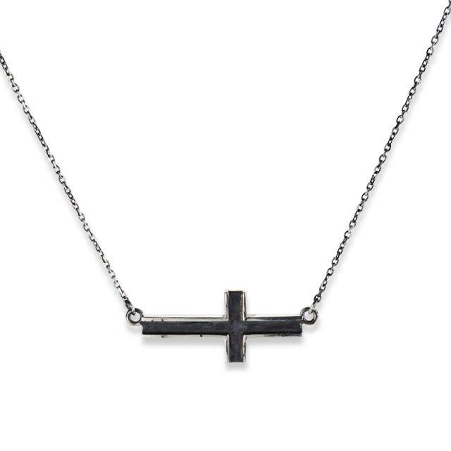 【予約注文受付中】【DUB公式通販サイト限定】Side Cross Necklace Pair サイドクロスペアネックレス DUBjt-10