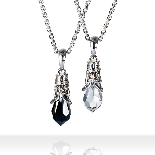 TearDrop Necklace ティアドロップネックレス DUBjt-5-6【ペア】