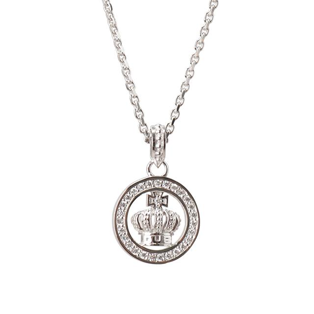 受注生産(オーダー)【DUB公式通販サイト限定】Round Crown Necklace ラウンドクラウンネックレス DUBjt-7【ユニセックス】