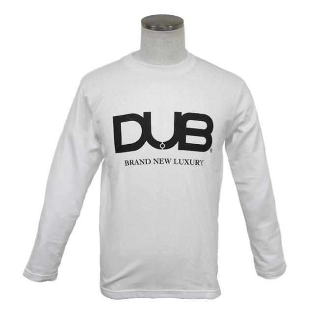 【DUB collection|ダブコレクション】DUBロングTシャツ ロゴ DUBt-03WH【メンズ】