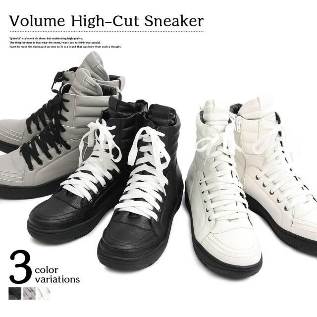 Volume High-Cut Sneaker ボリューム ハイカット スニーカー 【メンズ】