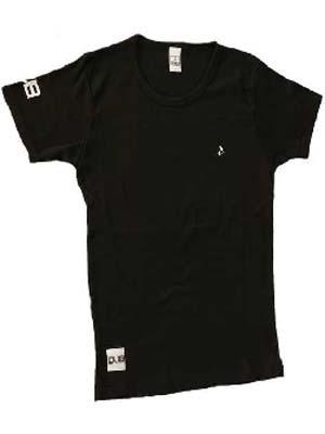 【残りわずか!】DUB レディース T-シャツ ブラック
