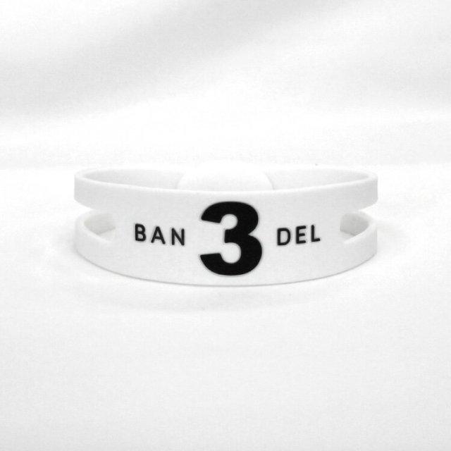 BANDEL Regular Number Bracelet レギュラー ナンバー ブレスレット no3【ユニセックス】
