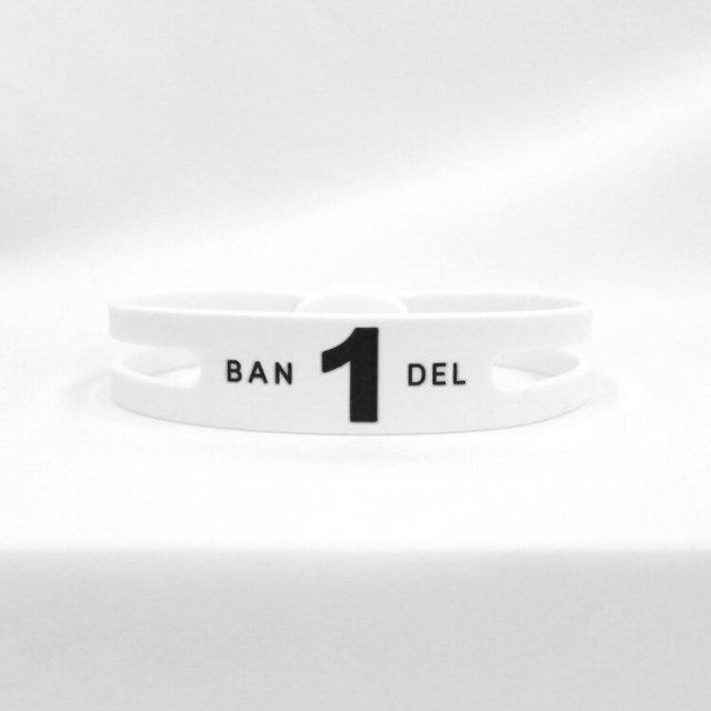 BANDEL Regular Number Bracelet レギュラー ナンバー ブレスレット no1【ユニセックス】