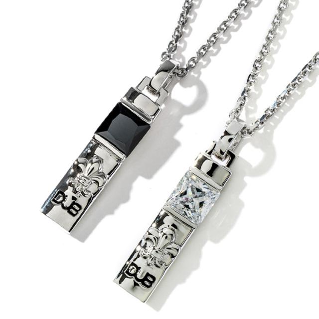 【DUB Collection|ダブコレクション】Crest of the Lily Pair Necklace クレストオブザリリィーペアネックレス DUBj-229-Pair【ペア】
