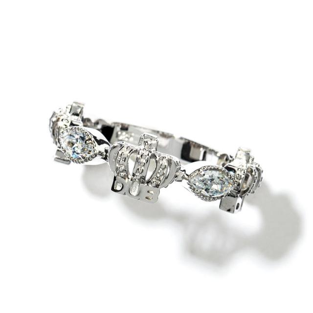 即日発送アイテム【DUB collection|ダブコレクション】Classical Crown Ring クラシカルクラウンリング DUBj-267-2【ユニセックス】