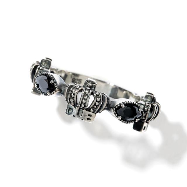 即日発送アイテム【DUB collection|ダブコレクション】Classical Crown Ring クラシカルクラウンリング DUBj-267-1【ユニセックス】