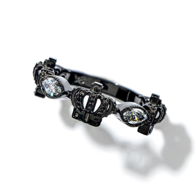 即日発送アイテム【DUB collection|ダブコレクション】Classical Crown Ring クラシカルクラウンリング DUBj-267-3【ユニセックス】