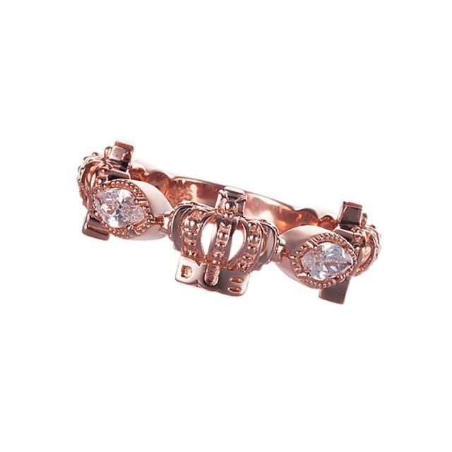 即日発送アイテム【DUB Collection│ダブコレクション】Classical Crown Ring クラシカルクラウンリング DUBj-267-4【レディース】