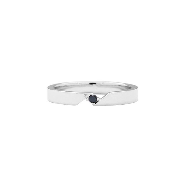 【DUB Collection│ダブコレクション】Connect Ring コネクトリング DUBj-364-1(BK)【メンズ】