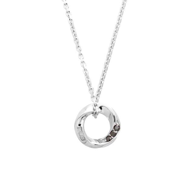 納期約1ヶ月~1ヶ月半【DUB Collection│ダブコレクション】Eternal Circle Necklace エターナルサークルネックレス DUBj-367-1【ユニセックス】