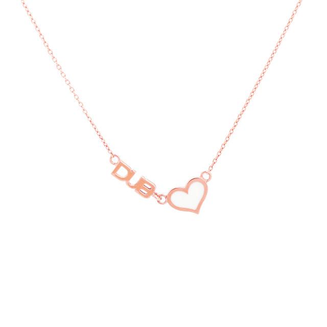 即日発送アイテム【DUB Collection Sweet|ダブスウィート】Sweet heart Necklace K10 ネックレス DUBjp-3 【レディース】