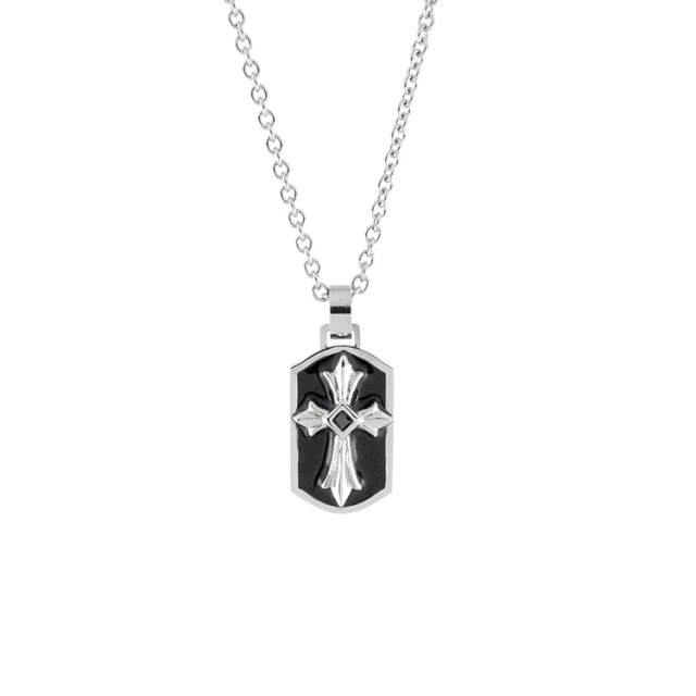 即日発送アイテム【DUB Collection│ダブコレクション】  DUBjss-42BK Stainless Necklace ステンレスネックレス